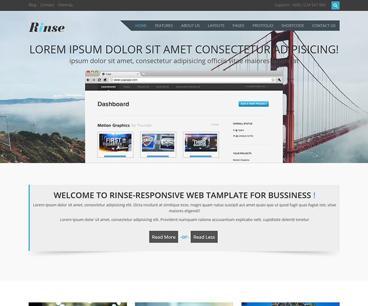 Great Html5 Site Template Ideas - Resume Ideas - namanasa.com