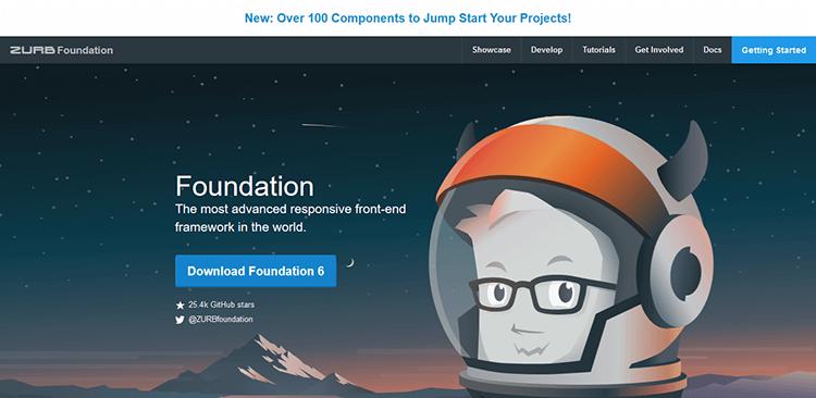 2/20 Best Responsive CSS Frameworks – FOUNDATION