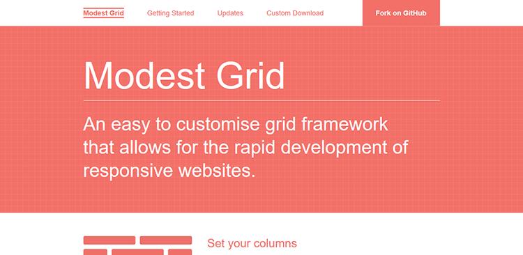 18/20 Best Responsive CSS Frameworks – MODEST GRID