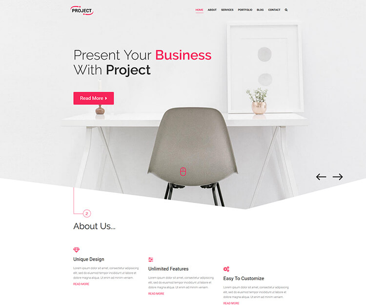 PROJECT – Corporate Business Template