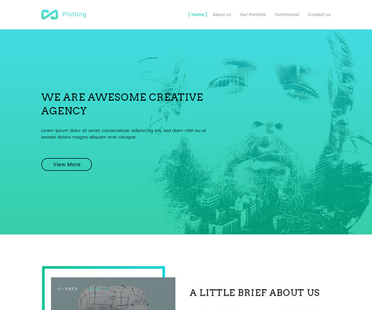 Ploting – Creative Agency Template