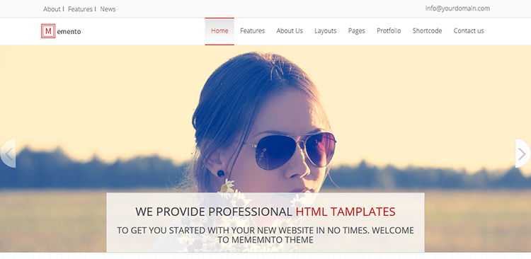 Free-Responsive-Website-Template-–-Memento