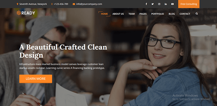 Ready-–-WordPress-Corporate-Business-Theme CMS