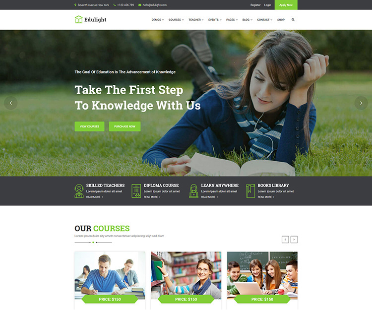 EduLight - Multipurpose Education HTML5 Template